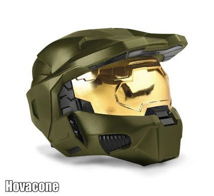 now this is a cool motorcycle helmet #xbox #halo a must have for all the fans of the halo series #hovacone cant wait for the new #halo5 game on #xboxone its going to be amazing Who is going to buy this game or the helmet?