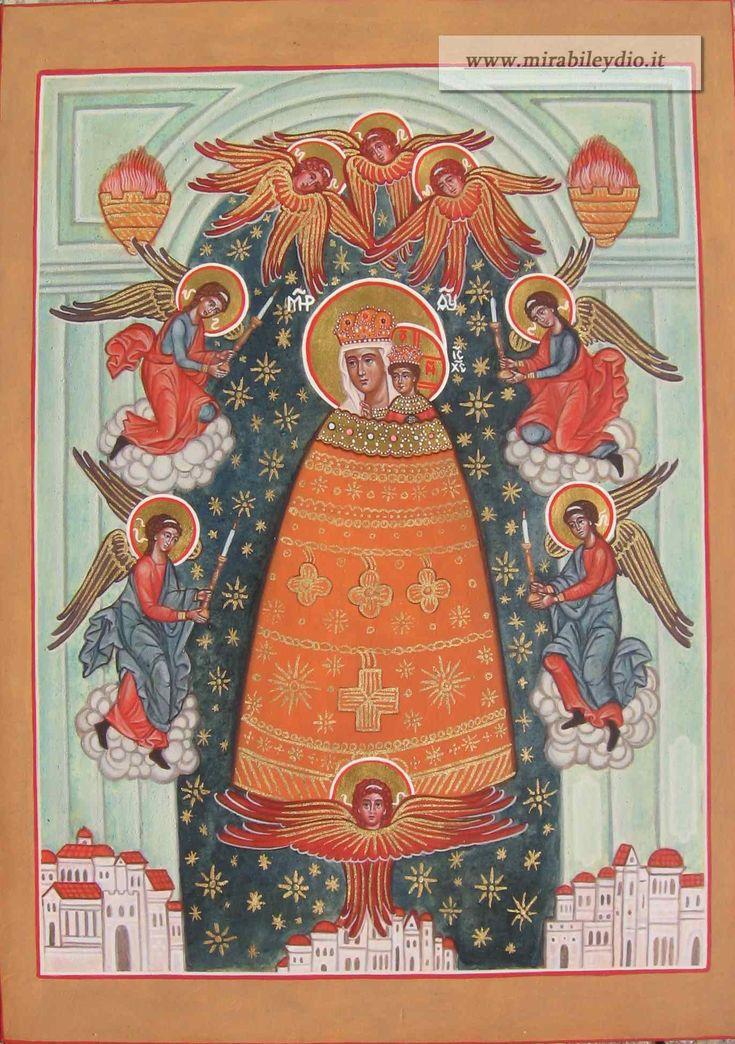 """Icona Madre di Dio """"Aggiunta di Ragione"""",o di Loreto"""