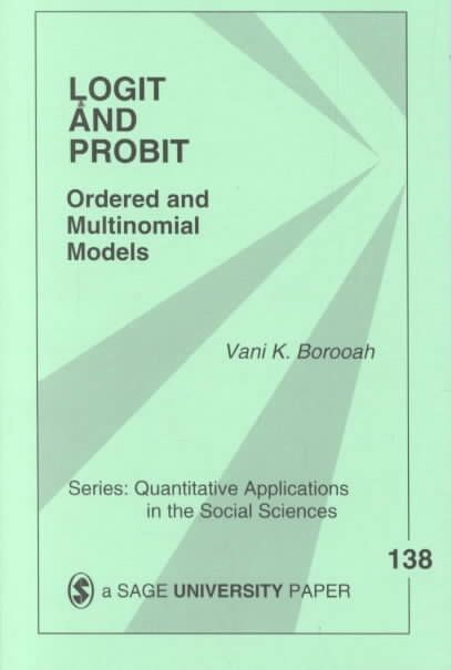Logit and Probit: Ordered and Multinomial Models