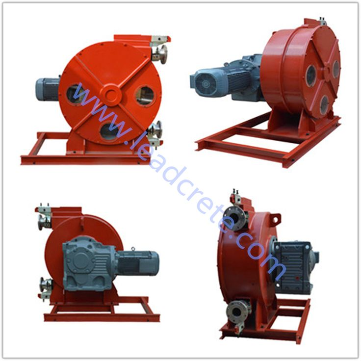 LH100-1050 peristaltic pump with SEW technical geax box_