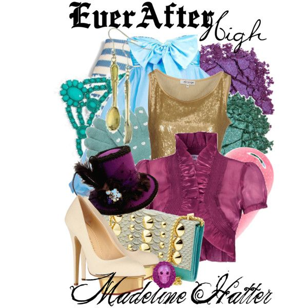 """Ever After High : Madeline Hatter"" what a great halloween costume! yes-i'm not telling what it is yet but my halloween costume is fairytale  themed! i plan ahead of time ;)"