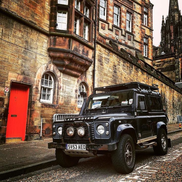 Land Rover Defender - Edinburgh Scotland