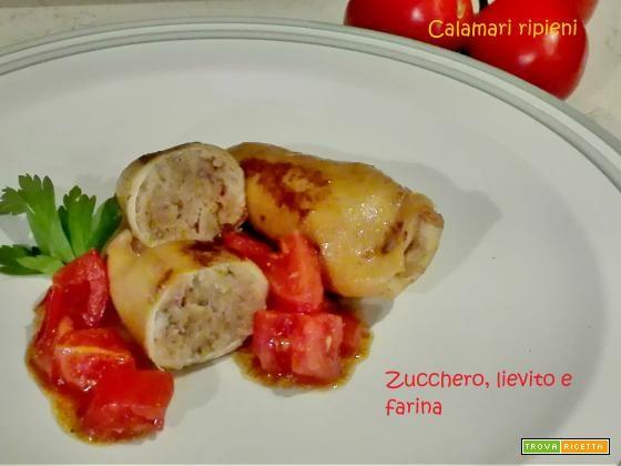 Calamari ripieni  #ricette #food #recipes