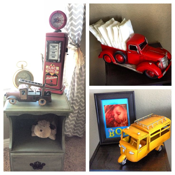 Vintage rustic boys nursery