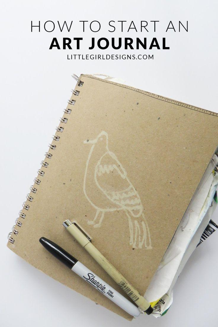 How to Start an Art Journal for the Beginner