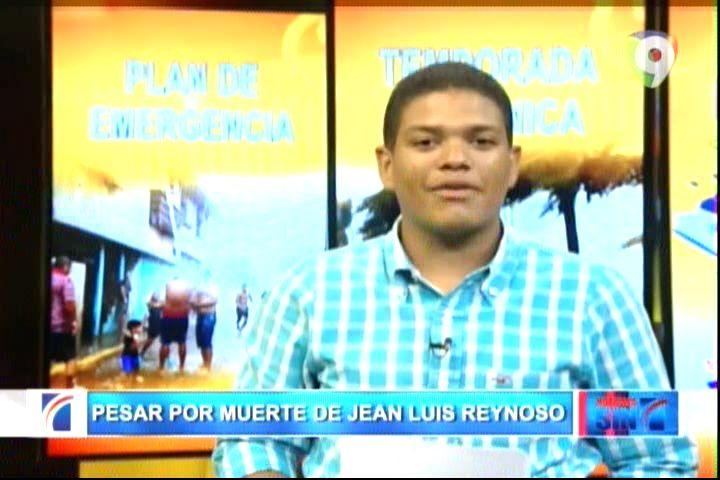 Muere Presentador De Noticias SIN Jean Luis Reynoso #Video