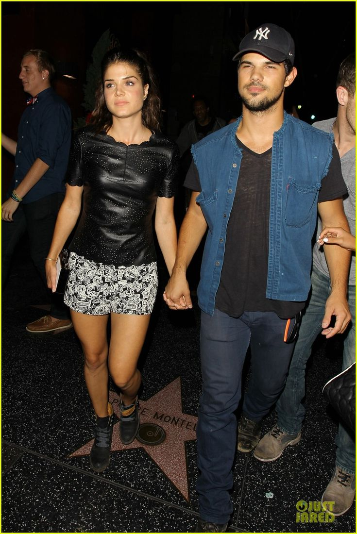 Taylor Lautner & Girlfriend Marie Avgeropoulos Are Still Going Strong at Hollywood Concert | taylor lautner marie avgeropoulos strong hollywood 01 - Photo
