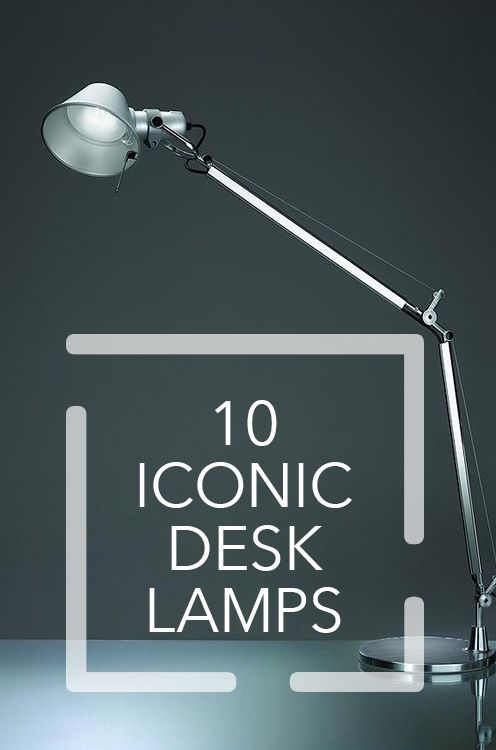 10 Desk Lamp Icons