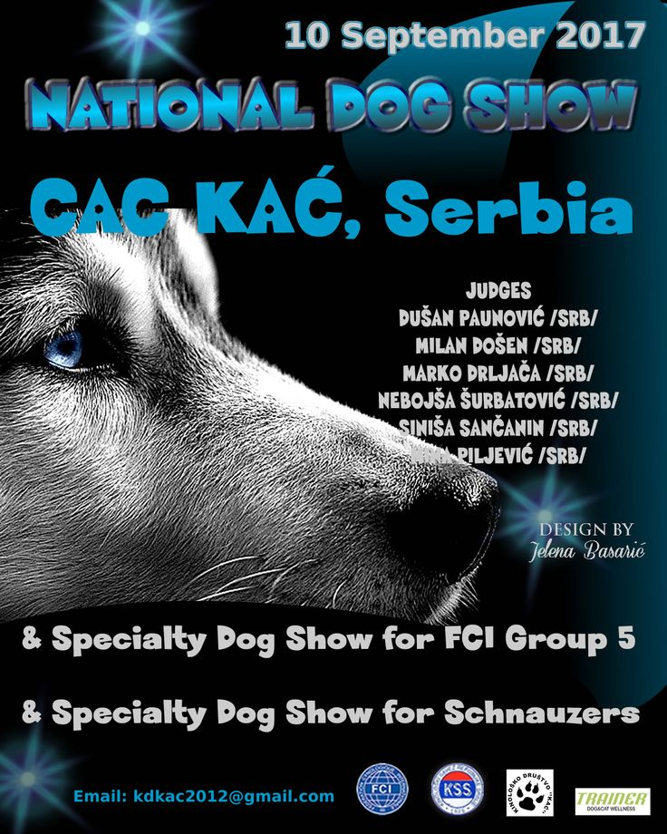 National Dog Show CAC KAĆ, Specialty Dog Show for FCI Group 5 & Specialty Dog Show for Schnauzers-10 September 2017 Kać (Serbia)