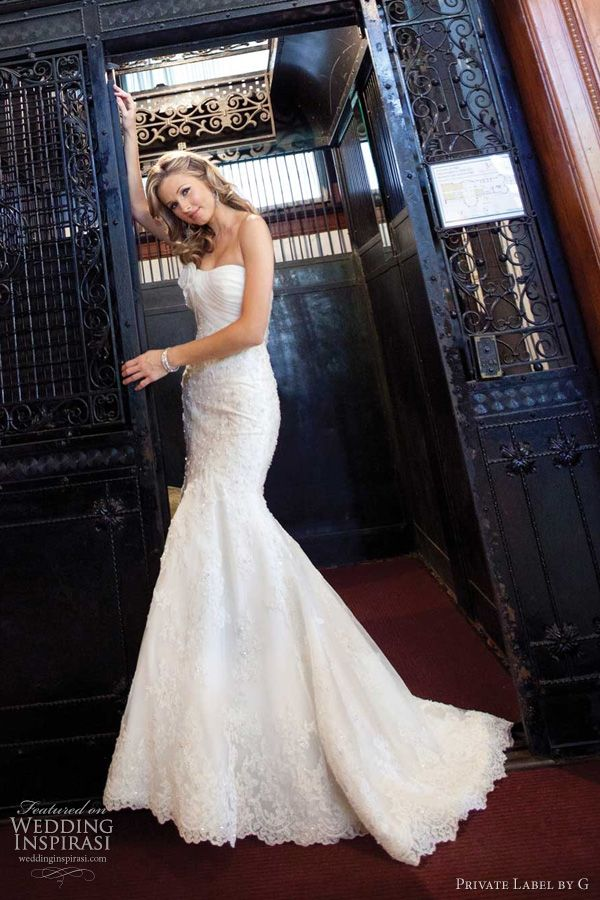 Private label by g wedding dresses beautiful vintage for Private label wedding dresses