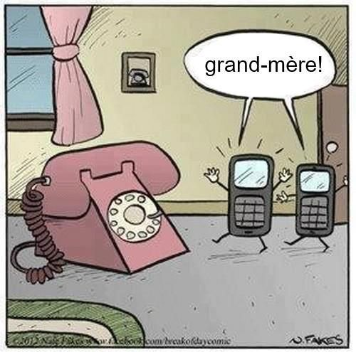 Whoever remembers this kind of phone is totally getting old... I guess I'm getting old then...