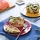 Timballo di salmone e zucchine