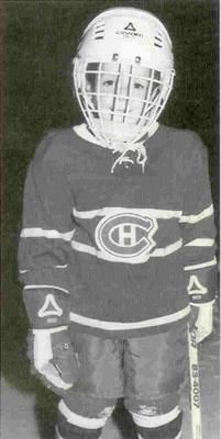 Danny Briere age 4...now living out his dream as a Montreal Canadian