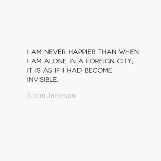 photo, image, travel quote, foreign city, storm jameson