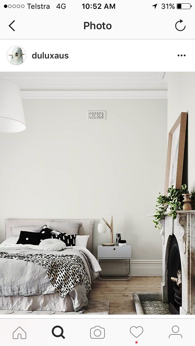 Dulux unforgettable with whisper white trim and ceilings