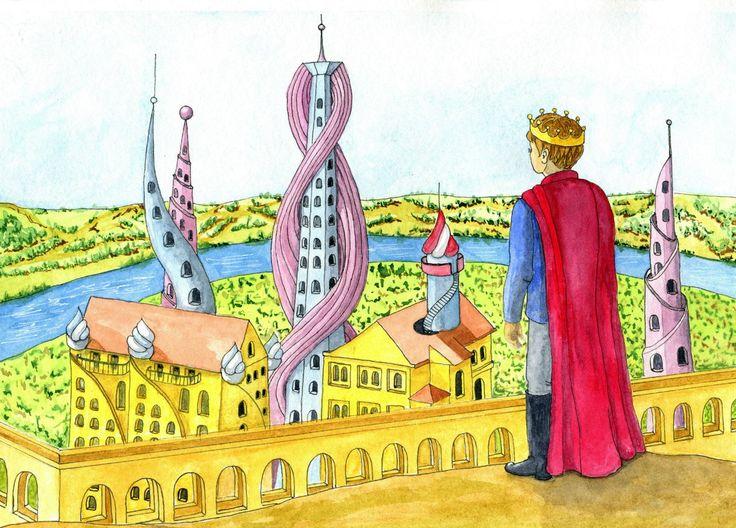 Иллюстрации к сказкам и др. проекты – 126 фотографий
