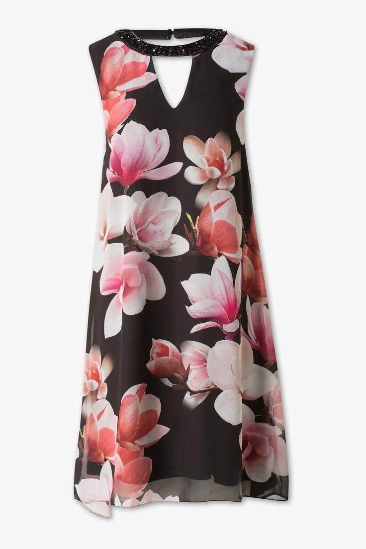 Yessica bis GR. 50 A-Linien-Kleid -  49,00 €