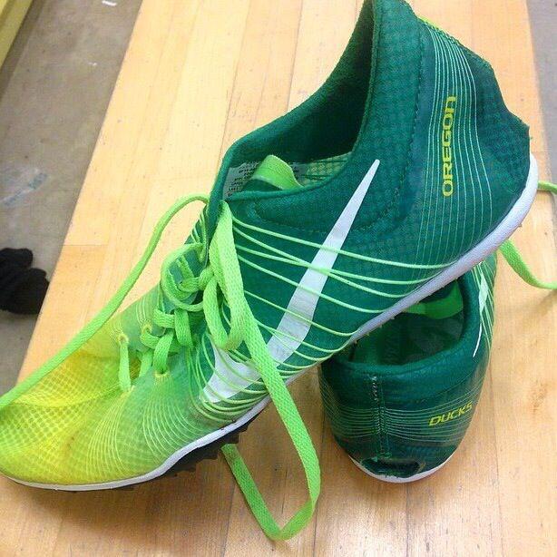 University of Oregon track spikes