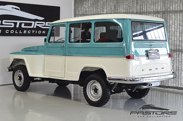 Ford Rural Willys 1973 . Pastore Car Collection