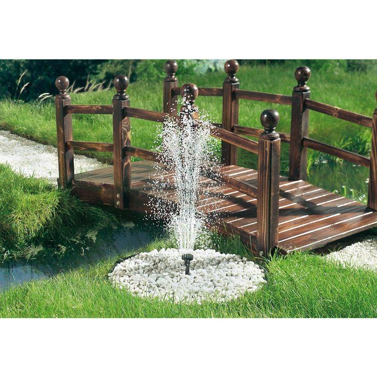 48 besten Wasser im Garten Bilder auf Pinterest Wasser im garten - gartenmauer mediterran verputzt