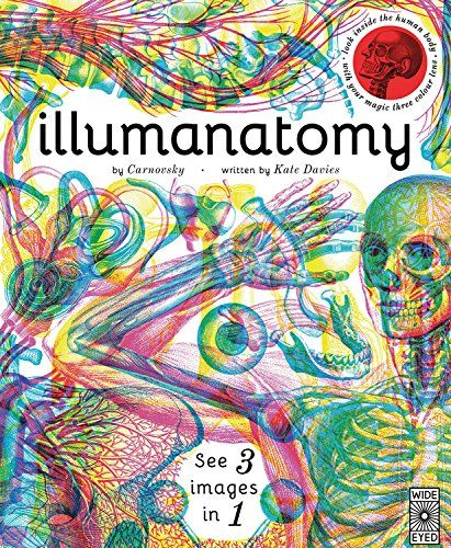 68 best amazing books for kids images on pinterest baby books a stunning way to see the layers of the human body through colored glasses the red lens reveals the skeleton the green reveals fandeluxe Choice Image