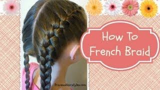 how to hair make it different : How to french braid, French and French braid tutorials on Pinterest