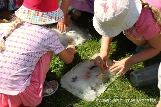 sweet and lovely crafts: water playdate fun!