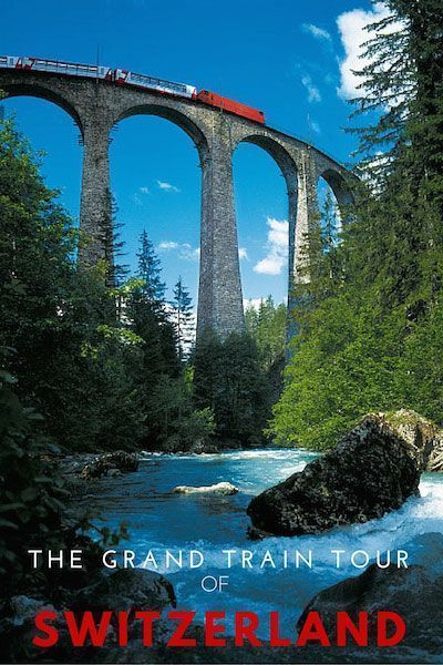 Switzerland by Rail Itinerary | With some of the most spectacular train rides in the world, it's easy to explore the very best of Switzerland by rail. Our 14 day Grand Train Tour of Switzerland is the perfect itinerary.