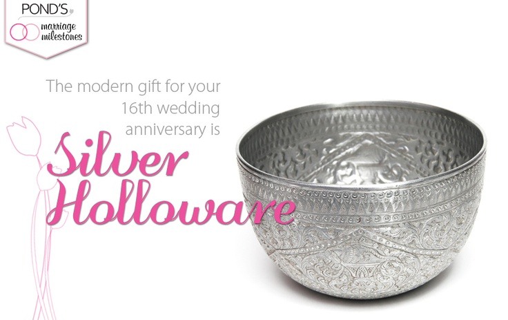 16th Wedding Anniversary Traditional Gift: Sixteenth #Wedding #Anniversary Ideas