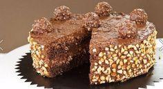 Вкуснейший торт «FERRERO ROCHER»   NashaKuhnia.Ru