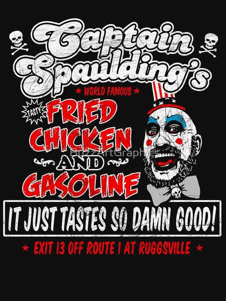 Captain Spaulding : House Of 1000 Corpses & The Devil's Rejects