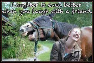 ❥ laughter