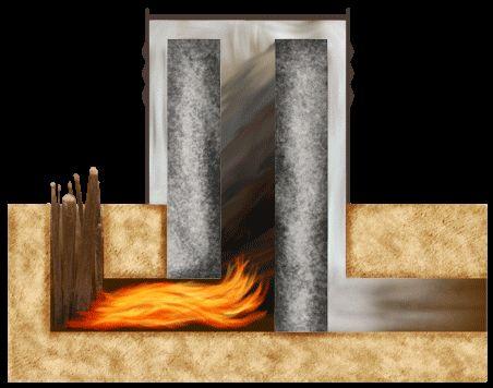まずは原理から 〜〜〜 AMAZING! This is called a rocket stove mass heater and it warms your house for almost nothing!