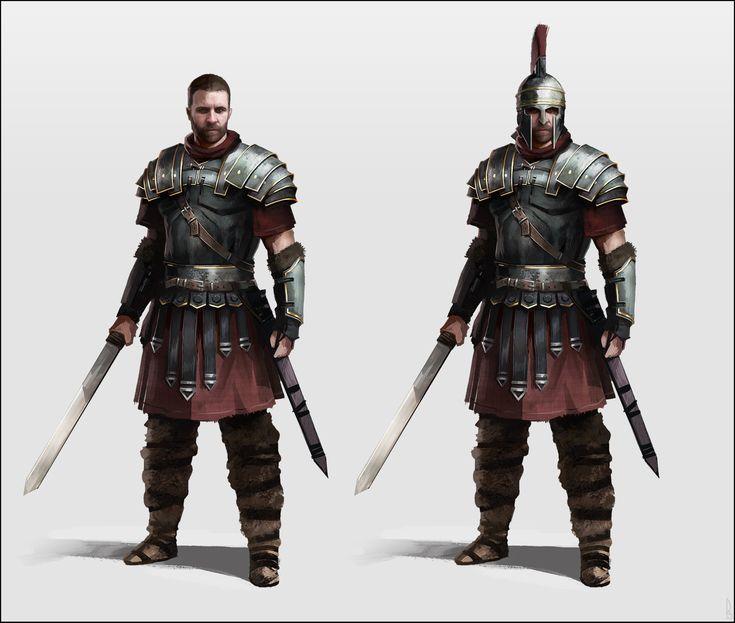 Soldado dá Guarda Pretoriana. A guarda pessoal do Imperador Romano.