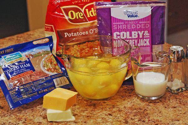 crockpot breakfast casserole ingr