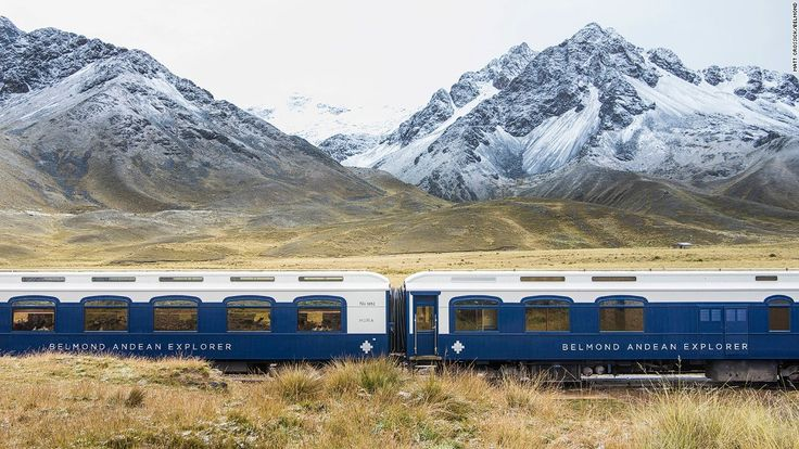 A new rail service brings the elegance of the Orient Express to the heights of the Peruvian Andes.