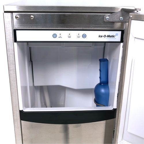 ice o matic 85 lb nugget ice machine basement kitchen ice makers ...