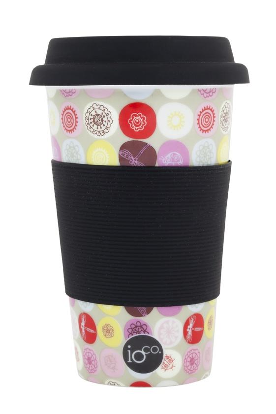 mix and match polka dot print... sweet circles... ioco coffee and tea traveller     shop now www.ioco.com.au