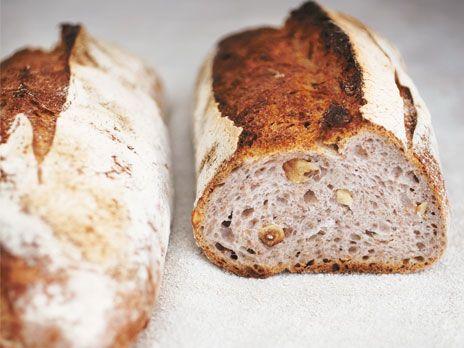 Hassel- och valnötsbröd | Recept från Köket.se