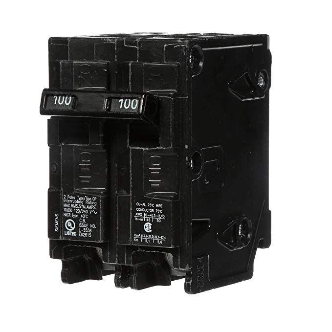 Q2100 100 Amp Double Pole Type Qp Circuit Breaker Review Circuit