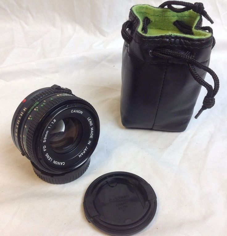 Canon FD LENS 50mm 1:1.8 f/1.8 made in Japan  #Canon