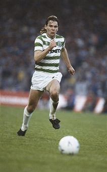 Brian McClair of Celtic in 1986.