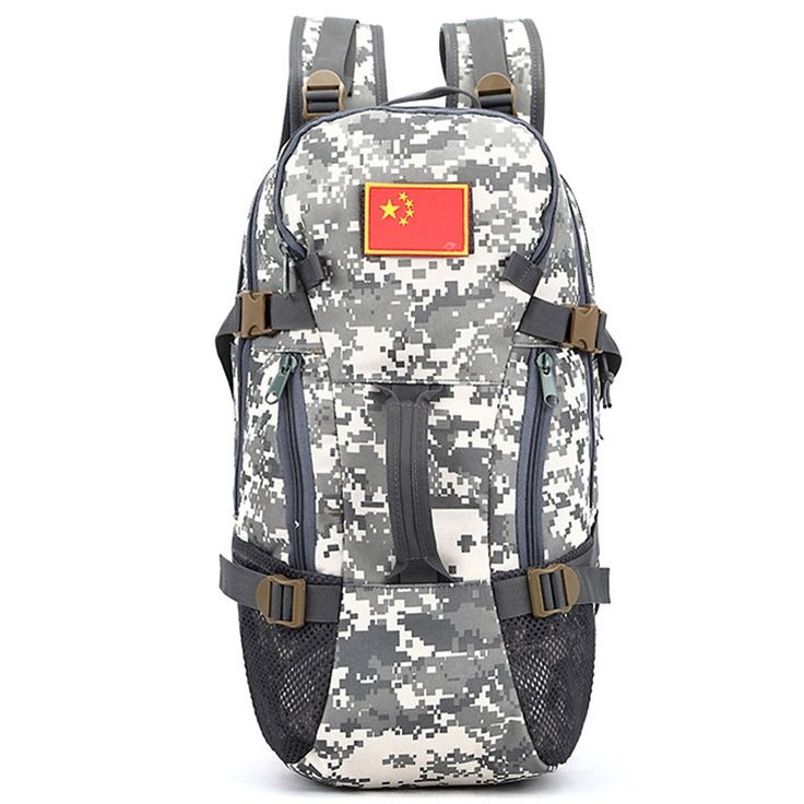 Hot Sale Outdoor Sport Military Tactical Climbing Mountaineering Backpack Camping Hiking Trekking Rucksack Travel Bags XA147WD