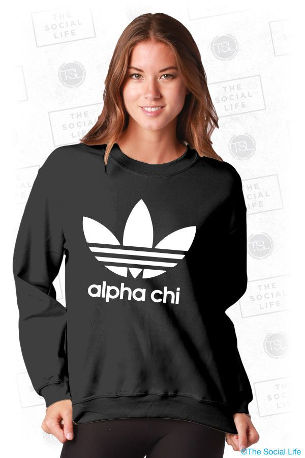 Alpha Chi Omega Athletic Sweatshirt