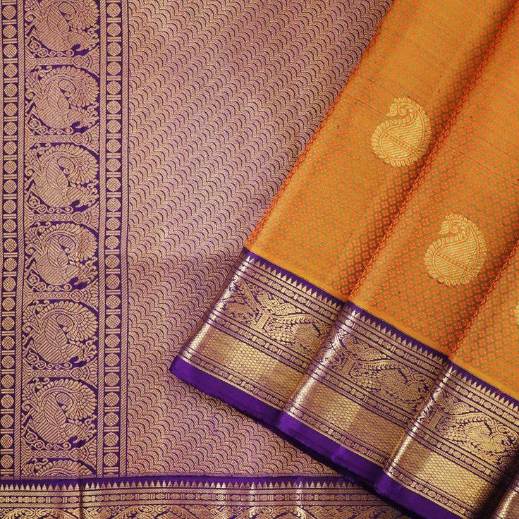 Kanakavalli Kanjivaram Silk Sari 060-01-16324 - Cover View