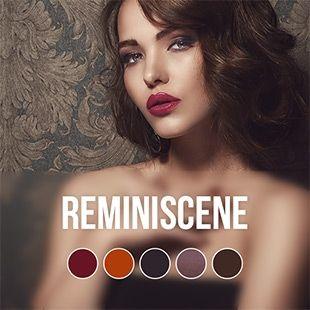 REMINISCENCE KOLLEKTION   Reminiscence 5 UV Nagellack Herbstfarben   Pink Gellac