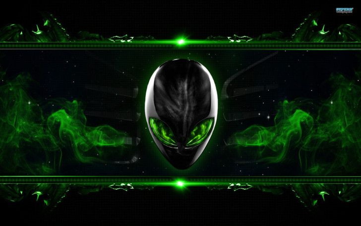 Alienware Wallpapers : Green Alienware Wallpaper