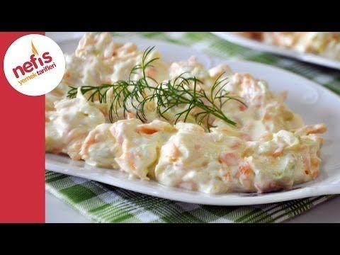 Havuçlu Kabaklı Meze Tarifi - Nefis Yemek Tarifleri - YouTube