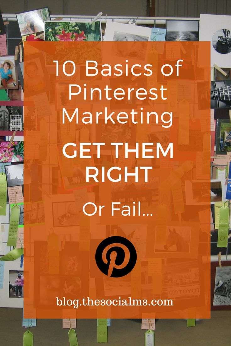Here are the basics you need to do on Pinterest before you start looking for Pinterest marketing success or you will not see any kind of measurable results. Pinterest marketing success, pinterest traffic, pinterest for bloggers, pinterest marketing tips