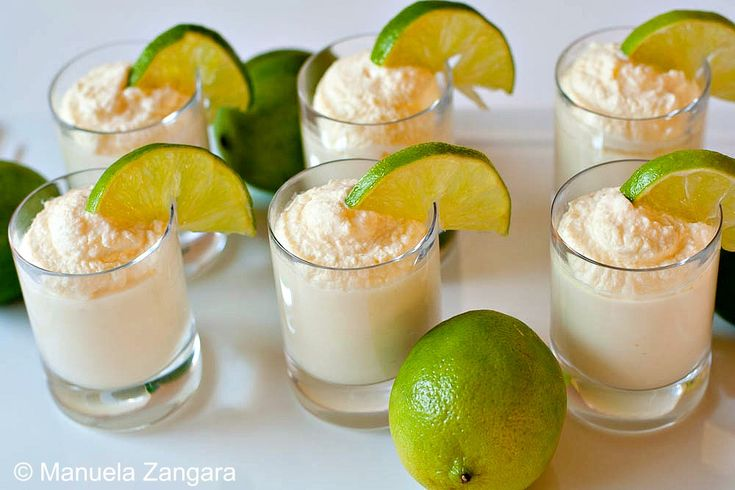 Tahitian Lime Mousse Shooters